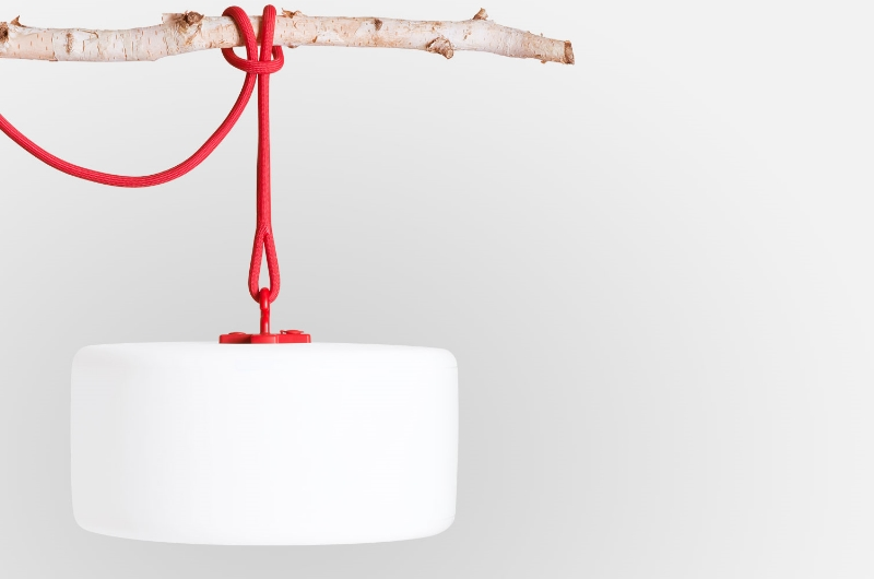 Thierry Le Swinger, die multifunktionale Outdoorlampe von Fatboy