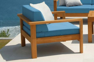 LINEAR DEEP Lounge-Sessel